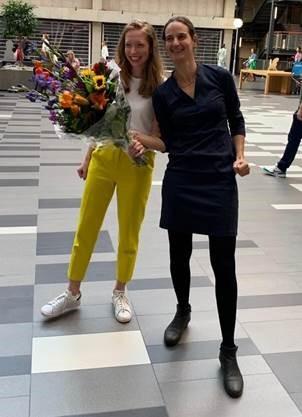 Liza Coyer en Elske Hoornenborg